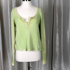 Free people We the free green thermal